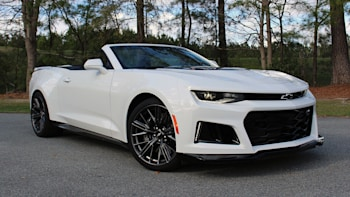 Highway Mode 2017 Chevrolet Camaro Zl1 Convertible First Drive