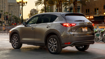 2018 Mazda Cx 5 Small Crossover Earns Top Safety Pick Plus Rating