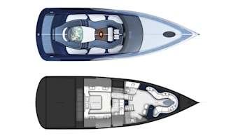 bugatti niniette 66 yacht is a 1,000-hp chiron for the water - autoblog