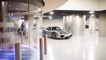 In Miami S Porsche Tower Your Car Rides An Elevator To The Sky