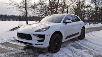 The Porsche Macan Gts Is A Great Way To Get To A Winter Rally Autoblog
