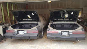 Two Nearly New 1987 Buick Grand National Twins Found In Garage