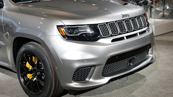 The Jeep Grand Cherokee Trackhawk is the all-wheel-drive