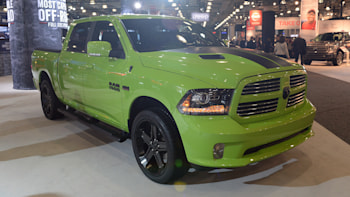 The Ram 1500 Sublime Sport And Rebel Blue Streak Swipe From