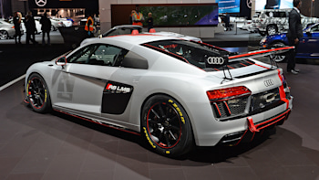 Audi R8 Lms Gt4 Debuts In New York A Ready Made Race Car Autoblog