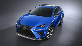 The Refreshed 2018 Lexus Nx Looks Just Like A Baby Rx Autoblog