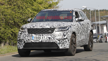 2019 Range Rover Velar SVR: News, Specs, Price >> Range Rover Velar Svr At 542 Horsepower Almost Ready To Go On Sale