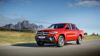2018 Mercedes Benz X Class First Ride Truck Deluxe Autoblog