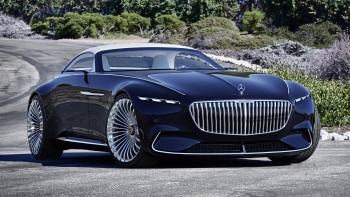 vision mercedes-maybach 6 cabriolet is last year's concept with a