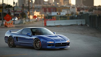 Fully Restored 1991 Acura NSX in Black New Metal Sign