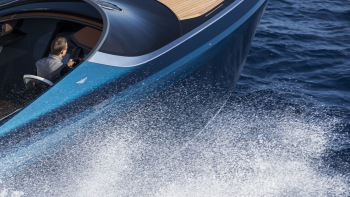 Of Course The Aston Martin Am37 Speedboat Is Fast And Beautiful