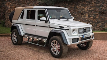 mercedes-maybach g650 landaulet fetches record $1.4 million at