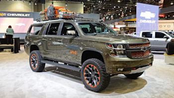 Luke Bryan Chevy Suburban Is A Rolling Hunting Blind Autoblog