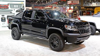 2018 Chevy Colorado Zr2 Midnight And Dusk Editions To Debut At Sema