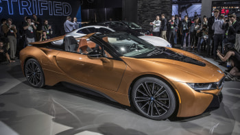 2019 Bmw I8 Roadster Debuts Along With Updated I8 Coupe Autoblog