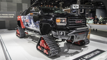 Snow Tracks For Trucks >> 2018 Gmc Sierra 2500hd All Mountain Concept Is A Snow Ready Truck