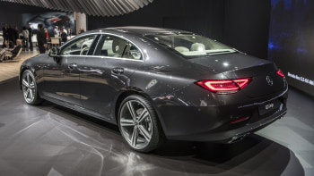Mercedes reveals the 2019 CLS with an inline-six engine at the L.A. ...