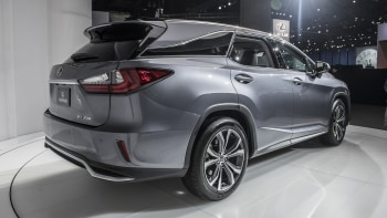 Lexus Rx 350l And Rx 450hl Crossovers Get A Third Row Autoblog