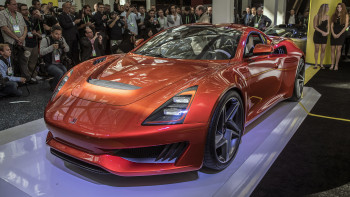 Saleen 1 Is An Elegant Compact Sports Car With A Unique Turbo