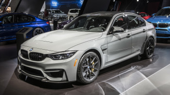 Bmw M3 Cs >> 2018 Bmw M3 Cs Revealed This Is The Baddest 3 Series On The