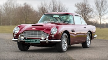 For Sale A 1965 Aston Martin Db5 Owned By Former Led Zeppelin