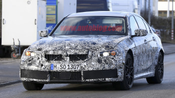 A 2019 Bmw M3 Spied Out Testing Autoblog