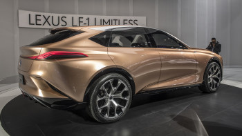 Lexus Lf 1 Limitless Luxury Crossover Concept Debuts At Naias Autoblog