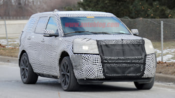 A Disguised Ford Explorer That Is Likely A High Performance St