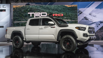 Toyota 2019 Trd Pro Off Road Trucks Upgraded At Chicago Auto Show