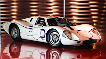 Two rare Fords from 1967, the last GT40 Mk  IV and an all