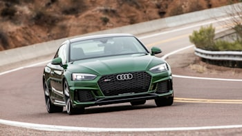 2018 Audi Rs5 Road Test Review Speed Hungry German Sport Coupe