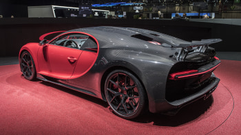 Bugatti Chiron Sport Introduced In Geneva Improves Handling Not