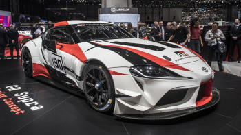 Toyota GR Supra Concept Previews Production Car At Geneva - Toyota show car