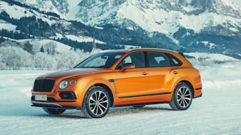 Review 2019 Bentley Bentayga V8 First Drive Autoblog