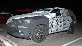 Jeep 3 Row Suv Spotted Testing Again Autoblog