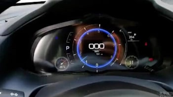 Mazda3 next generation appears to get digital gauges in