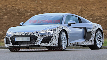 Updated Audi R8 Spotted Autoblog