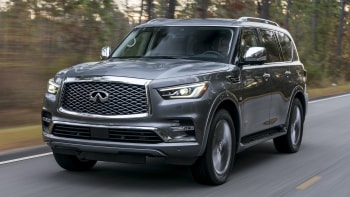 Infiniti QX80 drivers' notes review: What it's like to drive