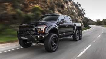 Hennessey VelociRaptor 6x6 modified Ford F-150 road test