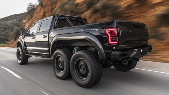 Hennessey Velociraptor 6x6 Modified Ford F 150 Road Test Review Autoblog