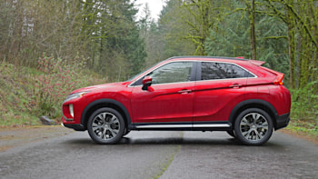 Mitsubishi Eclipse Cross small crossover is an IIHS Top