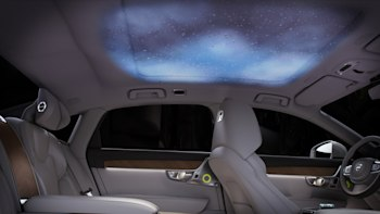 Volvo's S90 Ambience Concept for Beijing has lights and