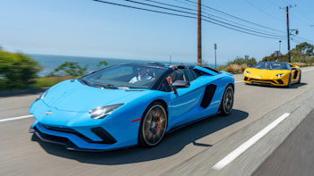 2019 Lamborghini Aventador S Roadster Road Test Review Autoblog