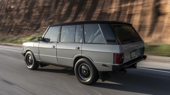 ECD Range Rover Classic restomod road test review | Autoblog