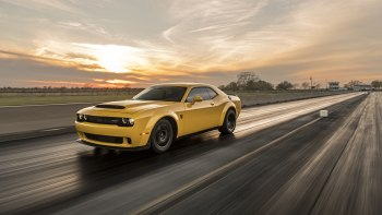 World's fastest Dodge Demon sets scorching quarter-mile time