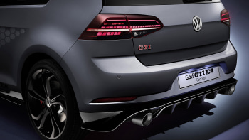 Vw Golf Gti Tcr Revealed At Worthersee Show Autoblog
