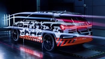 Audi E-Tron crossover will have aerodynamic side cameras