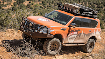 nissan armada mountain patrol off road review autoblog nissan armada mountain patrol off road