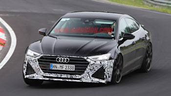 Audi RS Spied With Almost No Camouflage Autoblog - Rs7 audi