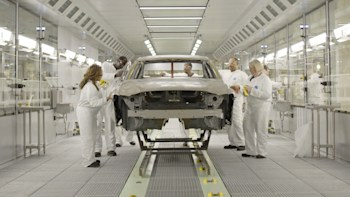 volvo shows off its new car plant in south carolina - autoblog